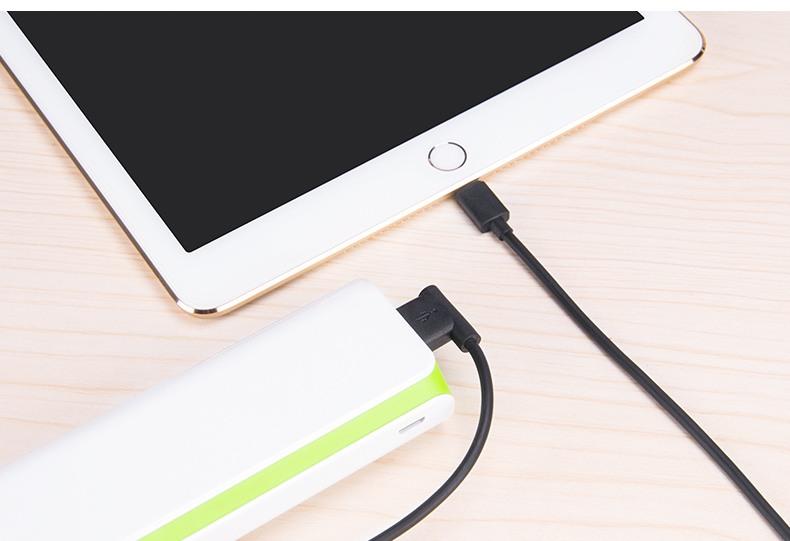 Cablu USB incarcare rapida + transfer date Hoco, mufa Lightning + USB, Negru