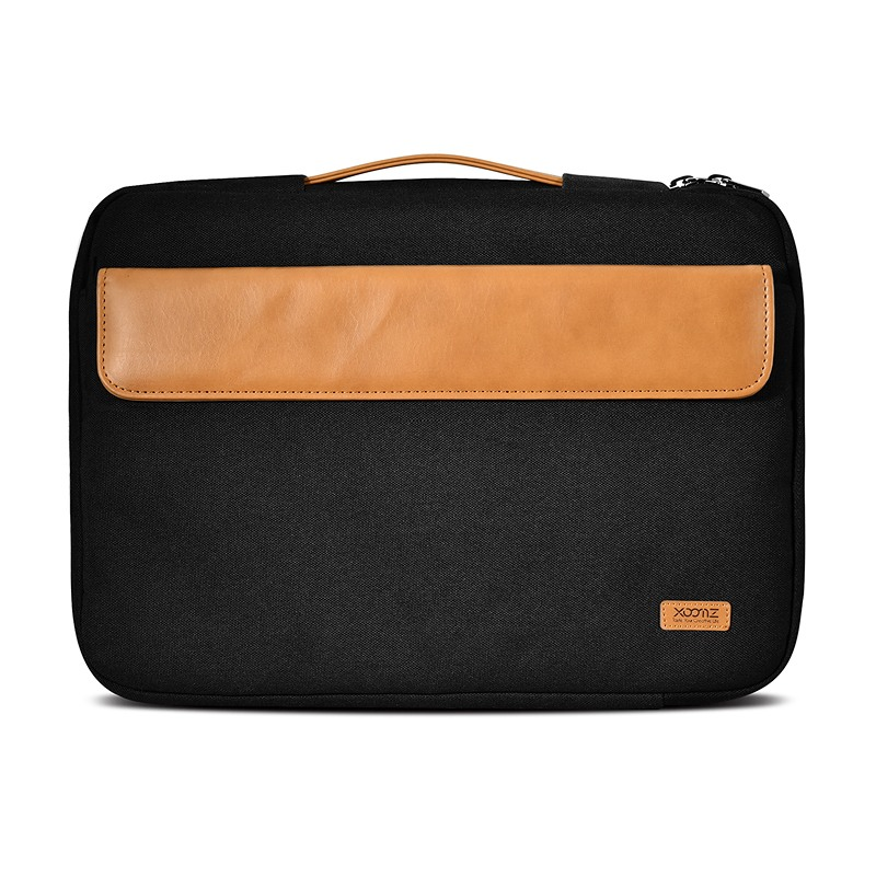 Geanta / Husa material textil, multiple buzunare, laptopuri 12 inch / tablete - Xoomz by iCarer, Negru