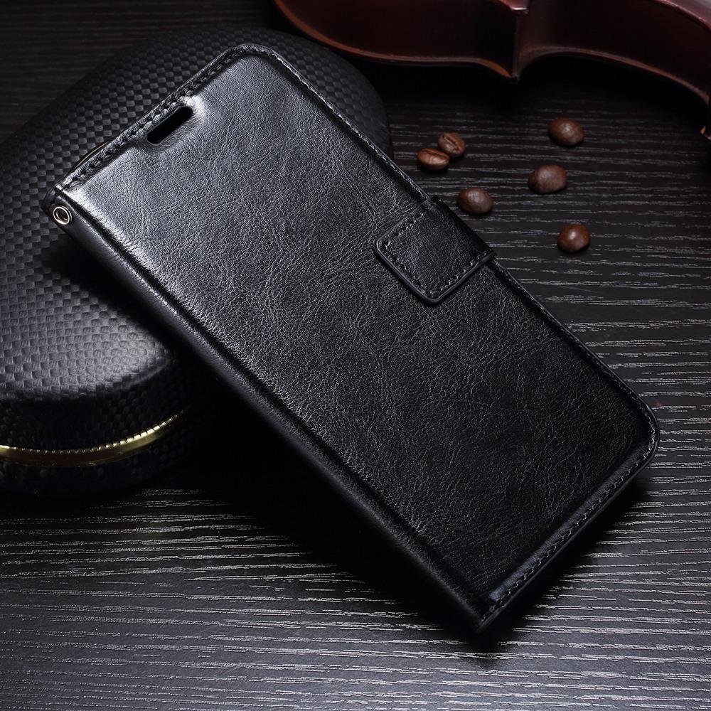 Husa piele fina, tip carte, functie stand, Huawei Mate 10 Lite - CaseMe, Negru
