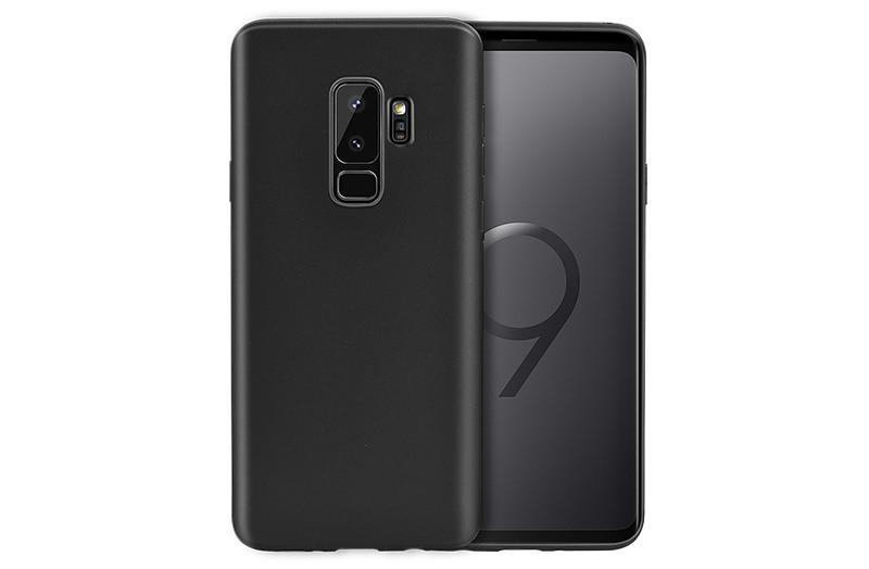 Husa slim mata, TPU moale si fin, tip back cover, Samsung Galaxy S9 Plus - Hoco, Negru