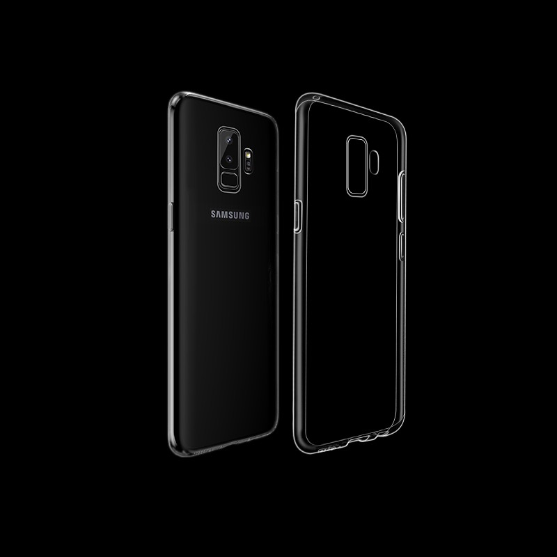 Husa ultra slim din silicon + TPU, tip back cover, Samsung Galaxy S9 Plus - HOCO, Transparent