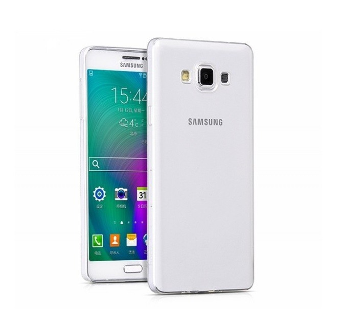 Husa ultra slim din silicon + TPU, tip back cover, Samsung Galaxy A7 (2015) - HOCO Light, Transparent