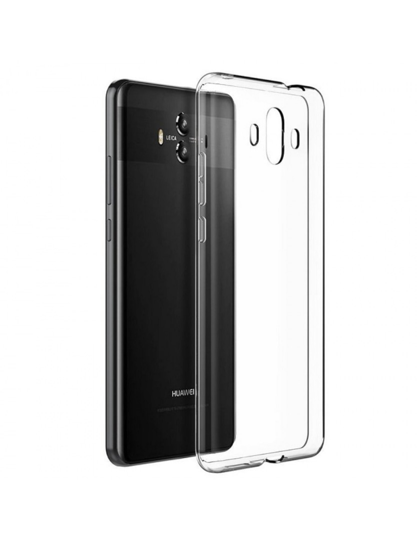 Husa ultra slim din silicon + TPU, tip back cover, Huawei Mate 10 - HOCO Light, Transparent