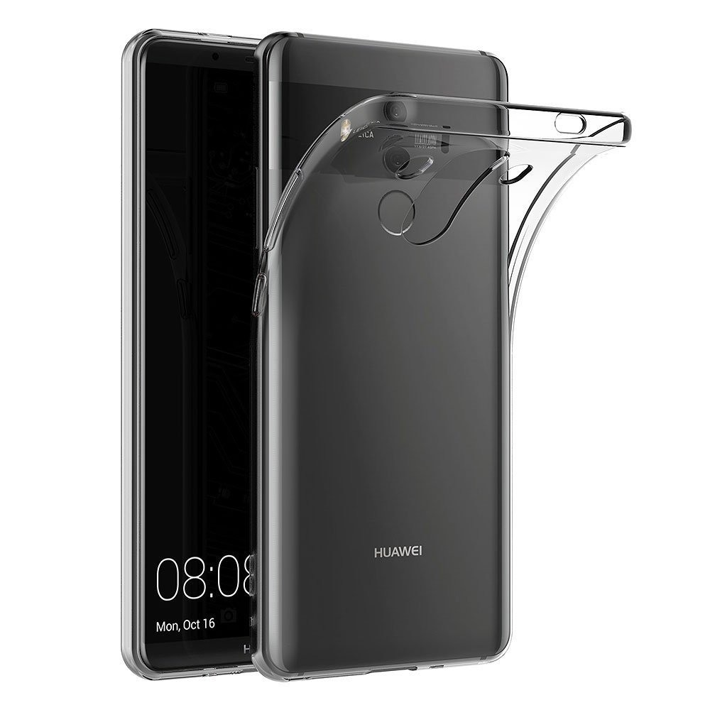 Husa ultra slim din silicon + TPU, tip back cover, Huawei Mate 10 Pro - HOCO Light, Transparent