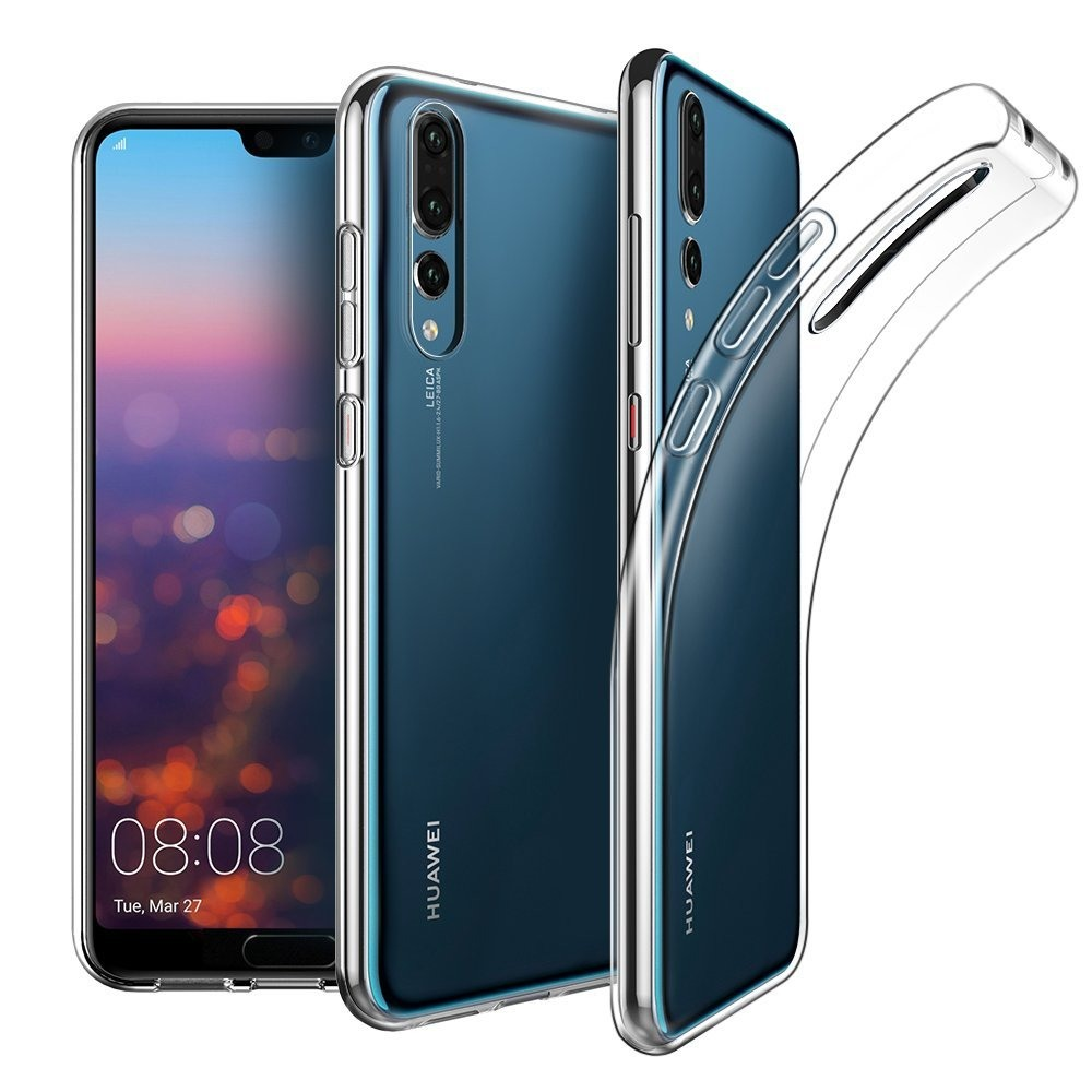 Husa ultra slim din silicon + TPU, tip back cover, Huawei P20 Pro - HOCO Light, Transparent