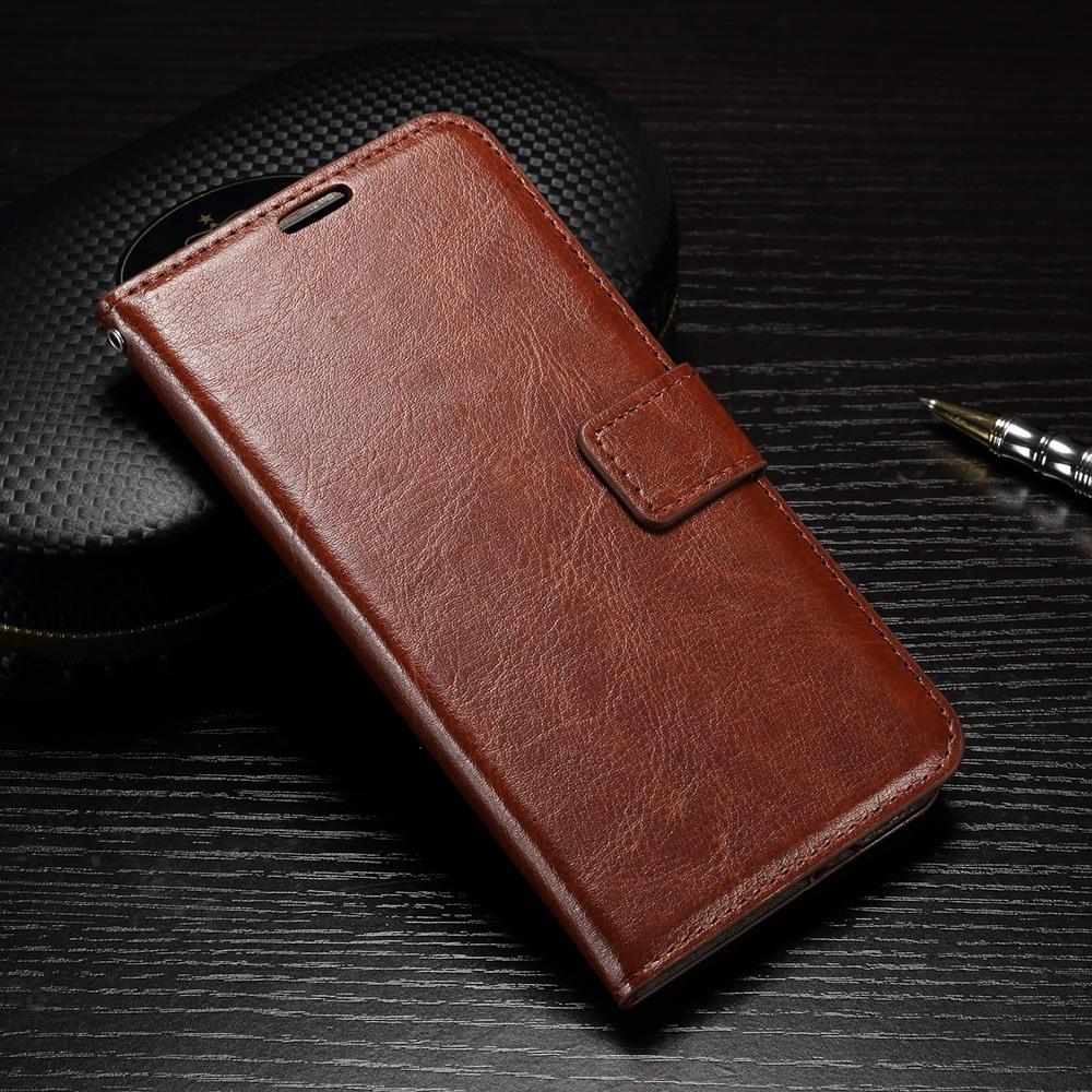 Husa piele fina, tip carte, functie stand, Huawei Ascend P9 - CaseMe, Maro coniac