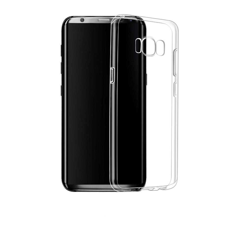 Husa ultra slim din silicon + TPU, tip back cover, Samsung Galaxy S8 - HOCO Light, Transparent
