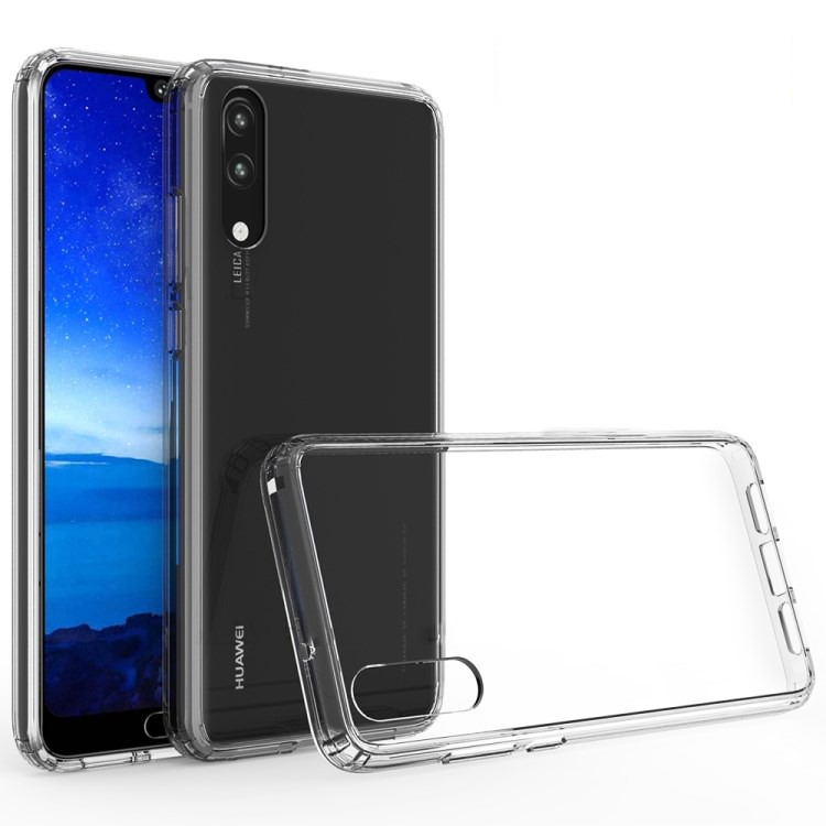 Husa ultra slim din silicon + TPU, tip back cover, Huawei P20 - HOCO Light, Transparent