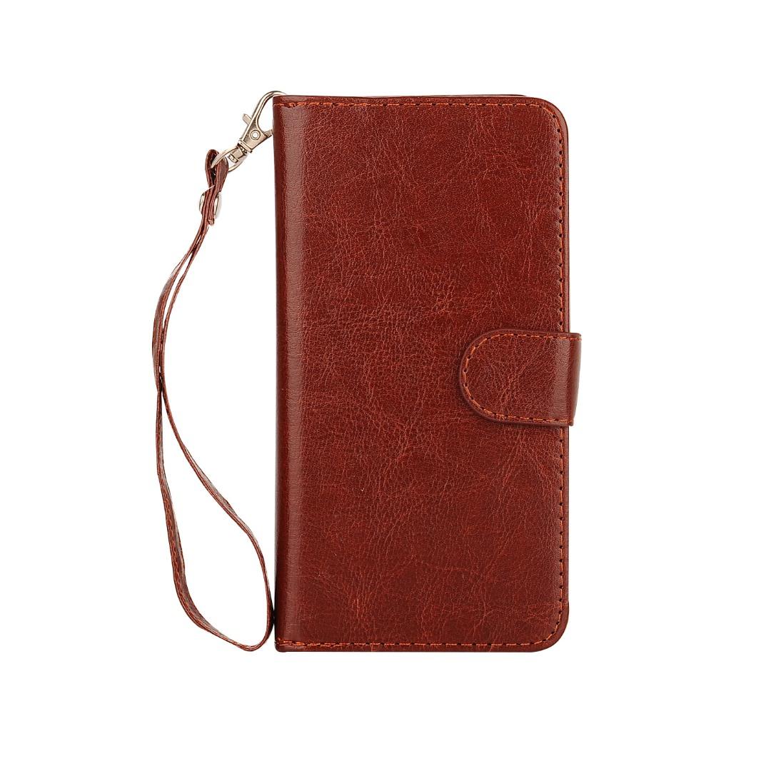 Husa 2in1 piele fina multifunctionala, portofel, back cover, Samsung Galaxy S7 Edge - CaseMe, Maro coniac