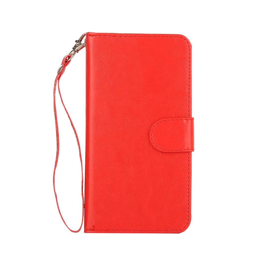 Husa 2in1 piele fina multifunctionala, portofel, back cover, Samsung Galaxy S7 Edge - CaseMe, Rosu