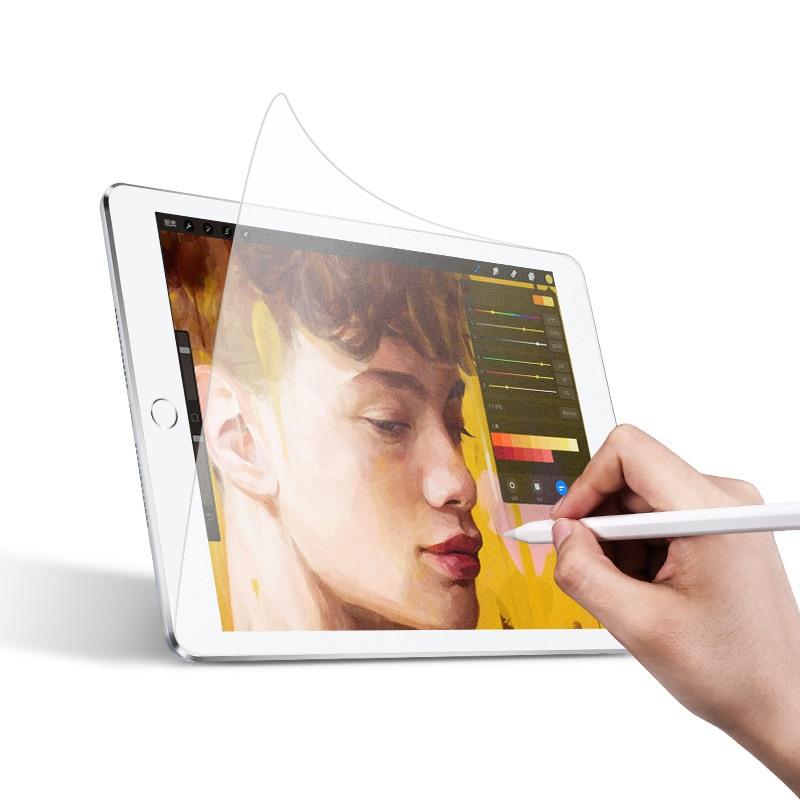 Folie protectie PET, textura fina ca de hartie, compatibil cu pencil, ideal pentru desenat, iPad Pro 10.5 / iPad Air 3 10.5