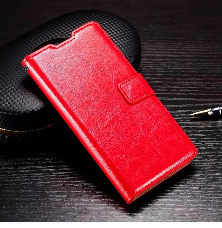 Husa piele fina, tip carte, functie stand - Samsung Galaxy A5 (2016),  Rosu