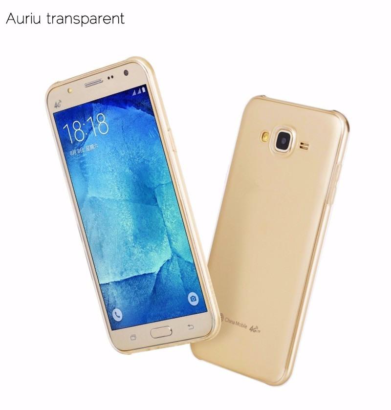 Husa ultra slim TPU, Hoco Light, Samsung Galaxy J5 (2015), back cover, Gold