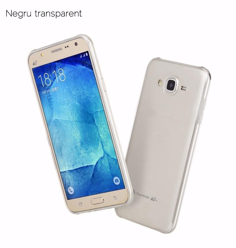 Husa ultra slim TPU, Hoco Light, Samsung Galaxy J5 (2015), back cover, Negru transparent