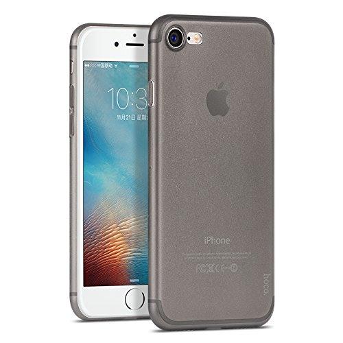 Husa ultra slim, tip back cover, iPhone 8 / iPhone 7 - HOCO Thin Series, Negru