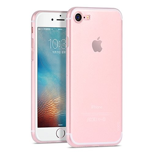 Husa ultra slim, tip back cover, iPhone 8 / iPhone 7 - HOCO Thin Series, Alb