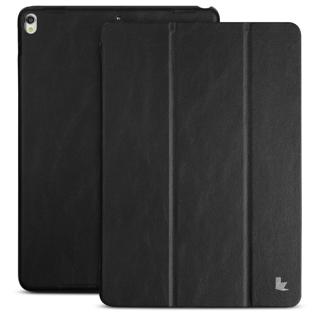 Husa piele fina microfibra, smart cover, stand, iPad Pro 10.5 / iPad Air 3 10.5 - Jison Case, Negru
